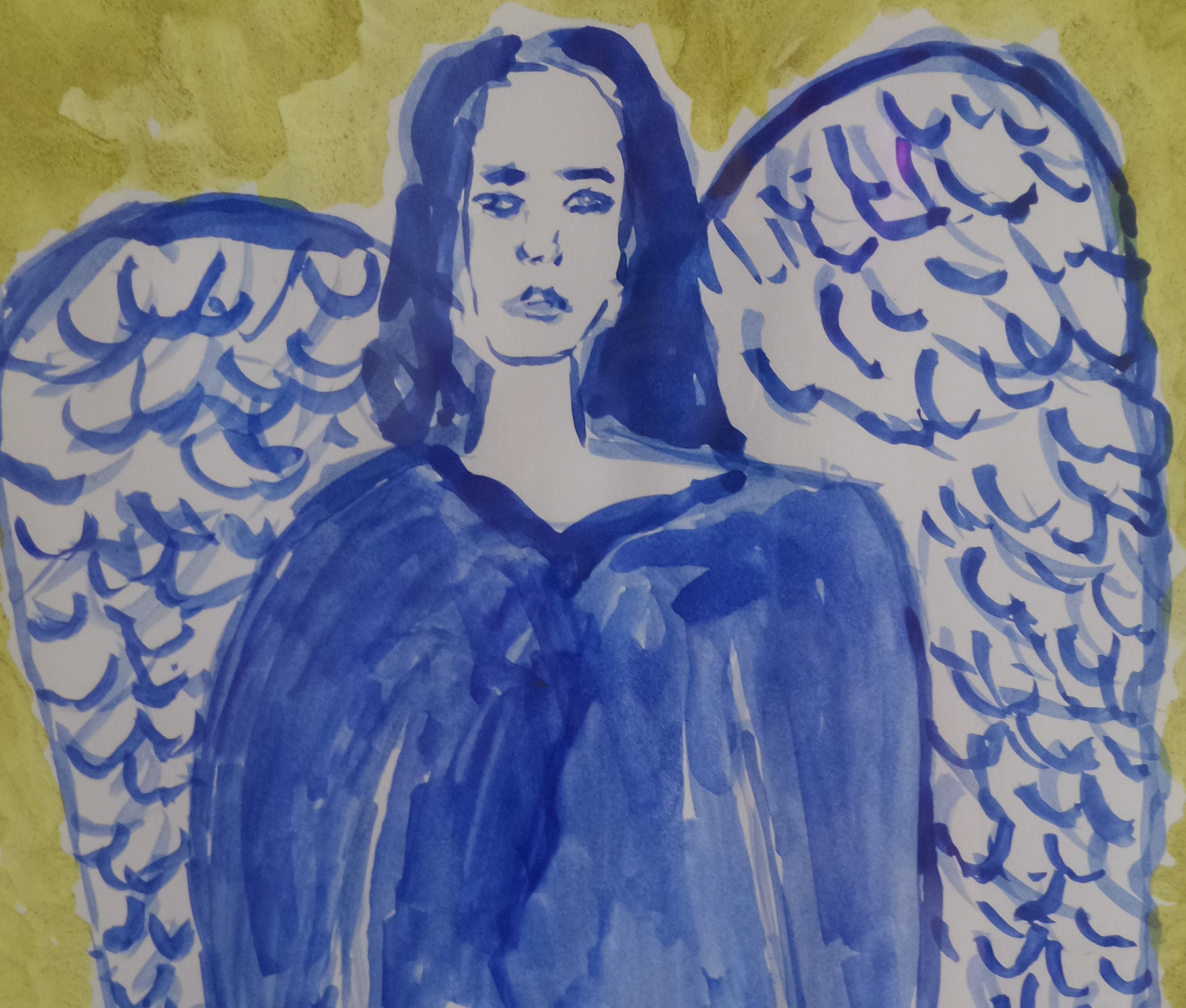 Blue Angel Tarot